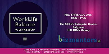 1 hour Work/ Life Balance Workshop tickets