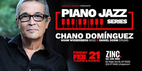 Piano Jazz Series: Chano Domínguez tickets