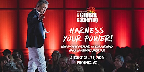Panache Desai's 2020 Global Gathering tickets