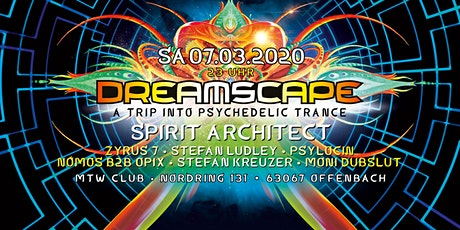Dreamscape march 2020 Tickets