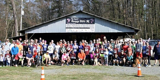 14th Annual Bunny Blitz Cross Country 5K Trail Run and Walk - Saturday, April 11th, 2020