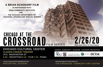 Chicago at the Crossroad Film Series - Chicago Cultural Center tickets