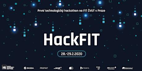 HackFIT 2020 — technologický hackathon na FIT ČVUT v Praze tickets
