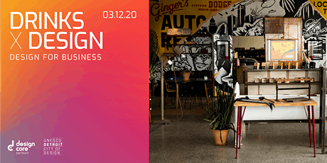 March Drinks x Design: Business tickets
