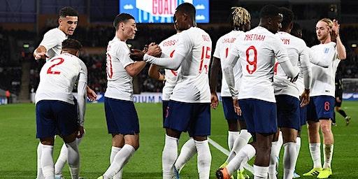 Chester FC Community Trust trip to England U21s v Andorra