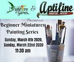 Beginner Plastic Miniature Painting Classes