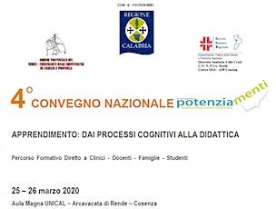 4° Convegno Nazionale Potenziamenti, 25-26 Marzo 2020 biglietti