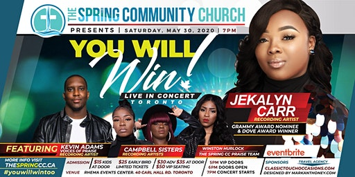 You Will Win Live! with Jekalyn Carr