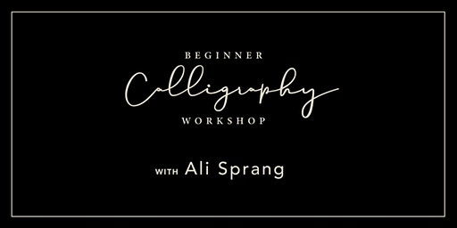 Beginner Calligraphy Workshop - Canton, Ohio