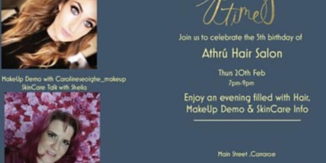 Athrú's 5th Birthday Hair and Beauty Bash tickets