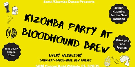 Kizomba Party at Bloodhound Brew tickets