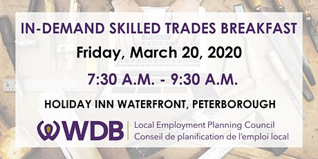 In-Demand Skilled Trades Breakfast tickets