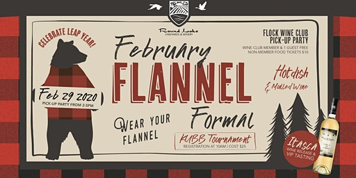 February Flannel Formal & Flock Wine Club Pick-Up
