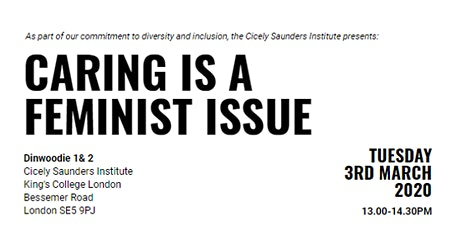 Caring is a Feminist Issue tickets