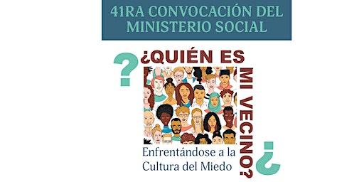 41RA CONVOCACIÓN DEL MINISTERIO SOCIAL