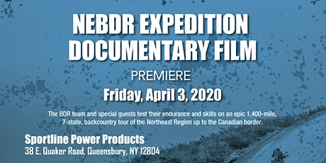 NEBDR Expedition Film Premiere tickets