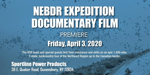 NEBDR Expedition Film Premiere