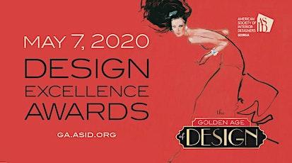 2020 Design Excellence Awards | Golden Age of Design tickets
