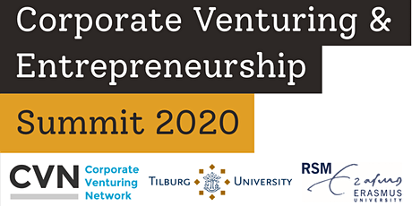 Corporate Venturing & Entrepreneurship Summit 2020 tickets