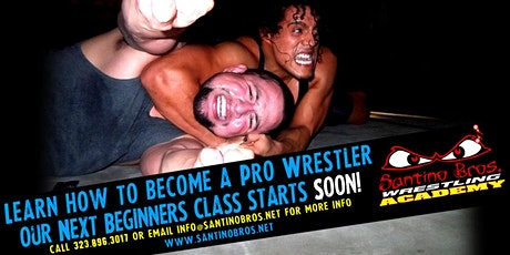 Beginners Pro Wrestling Course | June 29th, 2020 tickets