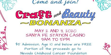 Craft and Beauty Bonanza tickets