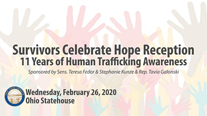 Survivors Celebrate Hope Reception: 11 Years of Human Trafficking Awareness tickets