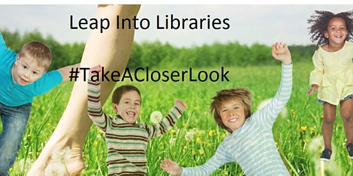 Leap Into Libraries: Arts & Crafts at Banagher Library #TakeACloserLook