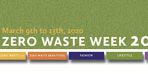 ZWW 2020: Zero Waste 101 (Brantford)