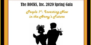 The 2020 ROCKS Spring Gala - People 1st:  Investing...