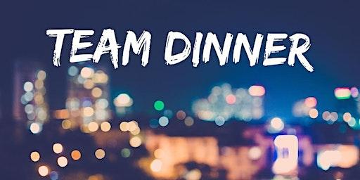 TEAM DINNER -- WORLD CONFERENCE