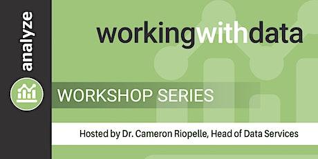 Working with Data Workshop Series tickets