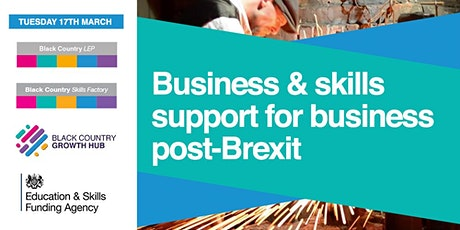 Business & Skills support for Business post-Brexit | Black Country LEP tickets