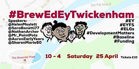 #BrewEdEyTwickenham tickets