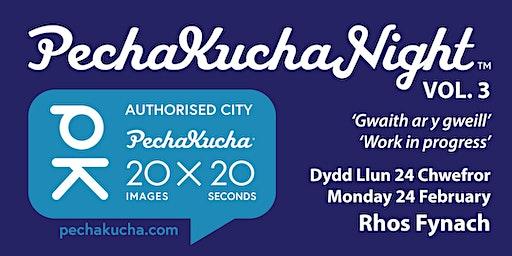 PechaKucha Creative & Digital -  Colwyn -  Creadigol & Digidol