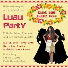 Luau with the Island Princess tickets