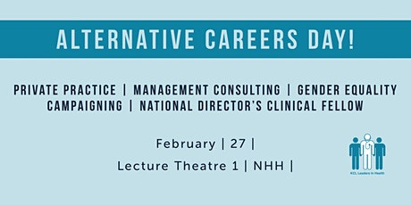 Careers Panel: Alternative careers in medicine tickets