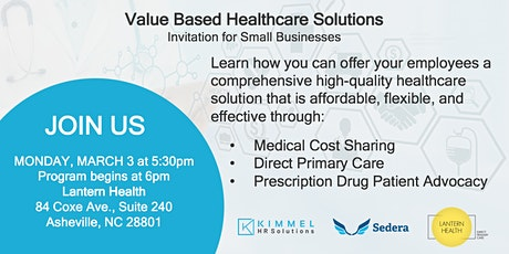 Value Based Healthcare Solutions tickets