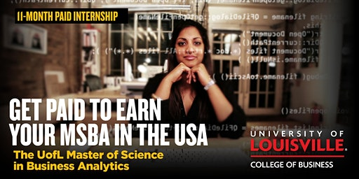 University of Louisville MS in Business Analytics Info Session