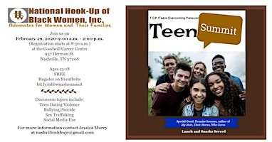 Teen Overcoming Pressure Summit