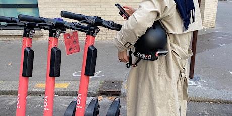 Focus Group Voi #4 : La sécurité en trottinettes électriques tickets