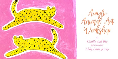 Animal Art Workshop at Cradle and Bee with Abby Little Jessup