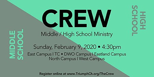 The Crew - Middle & High School Ministry (Redford)