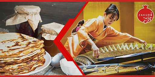 Russian Pancakes Tea Party & Japanese Traditional Music ZAKURO SHOW