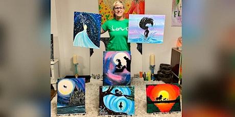 Fairy Tale Paint: La Plata, Green Turtle with Artist Katie Detrich! tickets