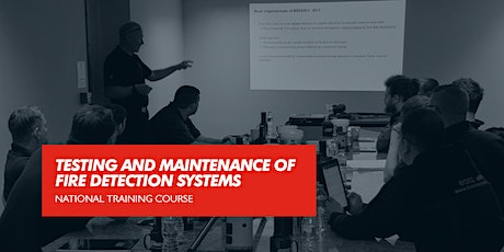 Testing and Maintenance of Fire Detection Systems (Surrey) tickets