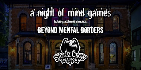 Storm Crow Manor presents A Night of Mind Games tickets