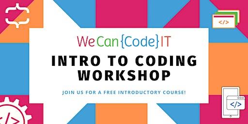 Intro To Coding Workshop