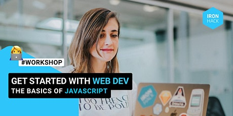 Get started with Web Development: the basics of JavaScript tickets