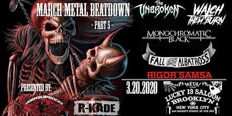 March Metal Beatdown - Part 5 tickets
