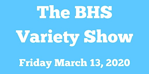 BHS Variety Show